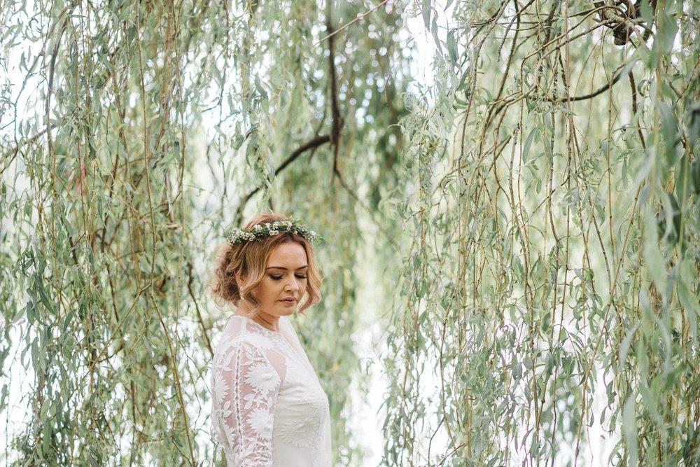 stunning bride at Castle Leslie Wedding.
