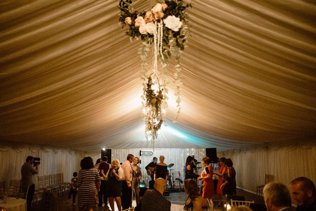 dance floor wide shot