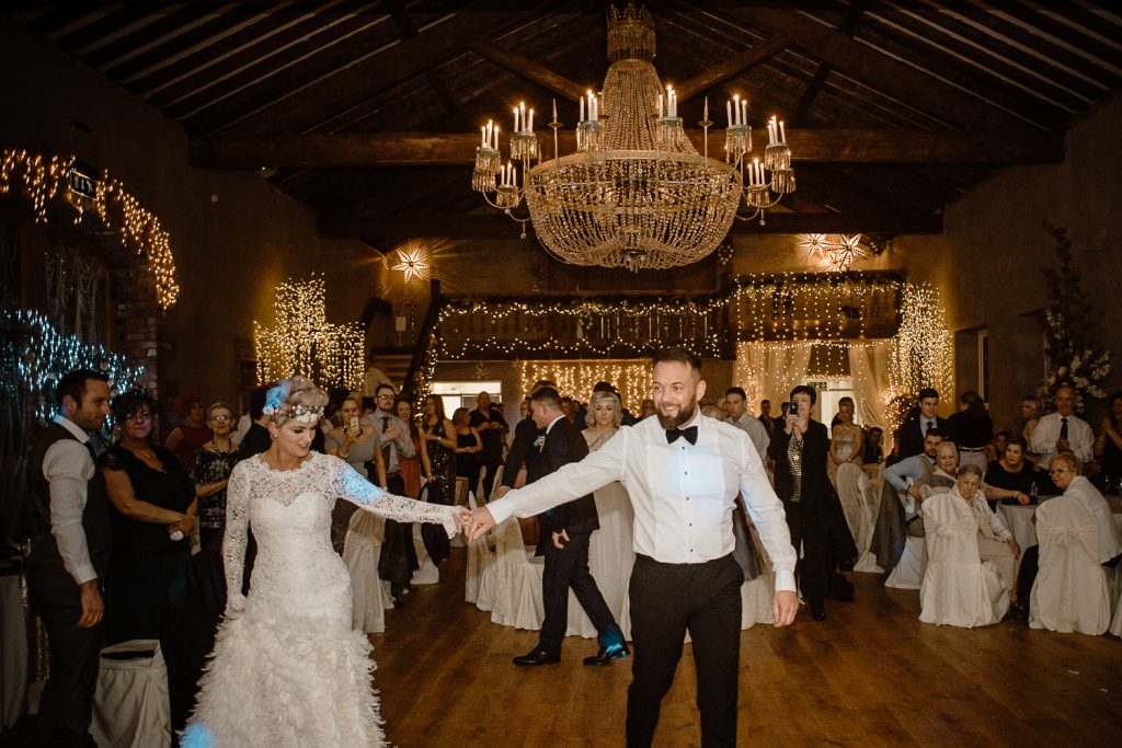 first dance at grace hall wedding