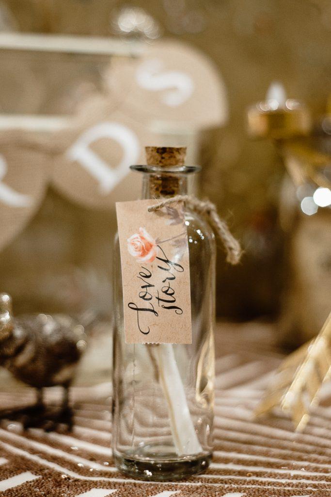 tiny bottle detail