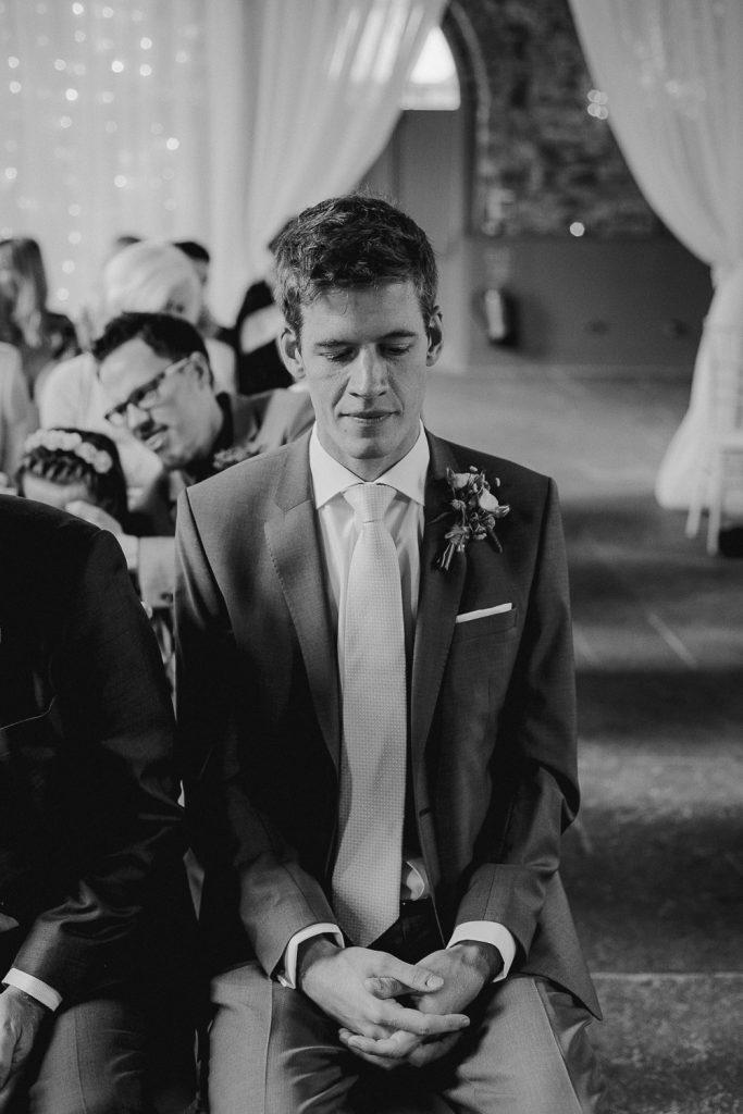 grooms looking nervous