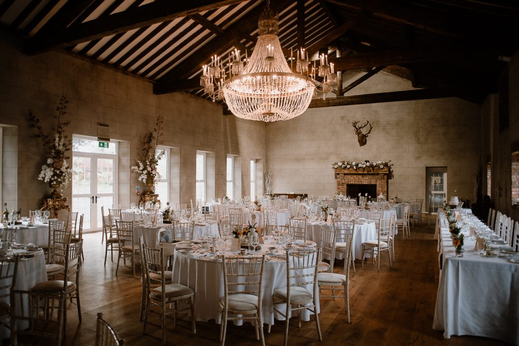 reception room at grace hall