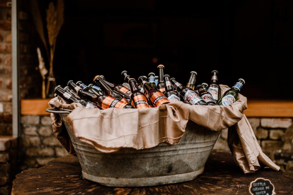 beers in a bucket
